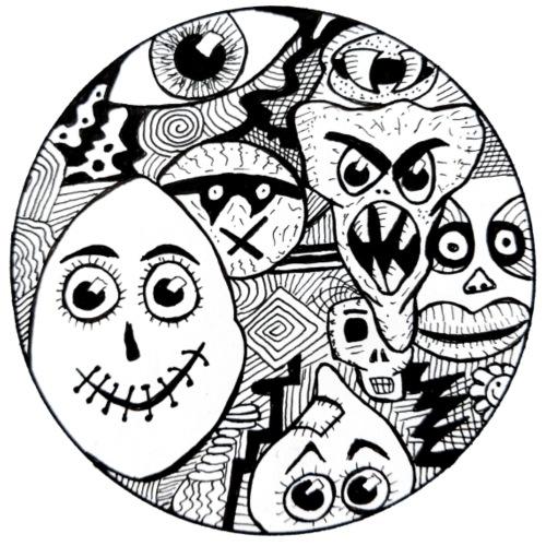 amis de cercle - T-shirt Premium Homme