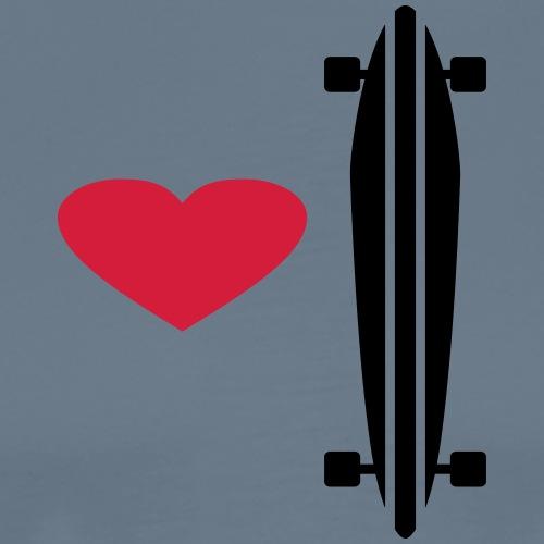 love longboard - Männer Premium T-Shirt