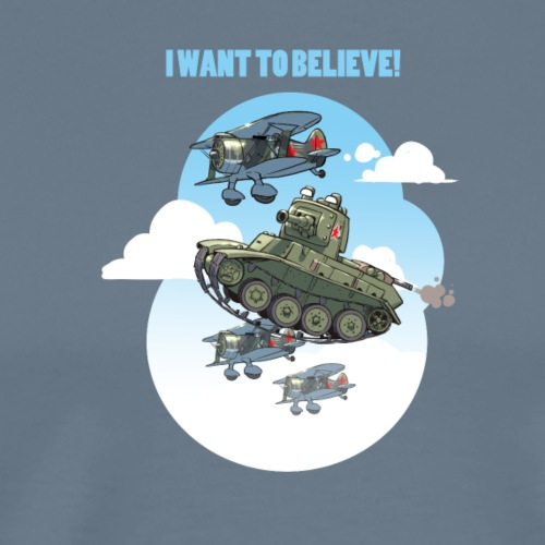 BT 7 wants to fly - Men's Premium T-Shirt