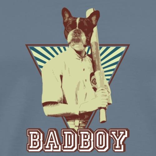 Bulldog francese bully baseball sport - Maglietta Premium da uomo