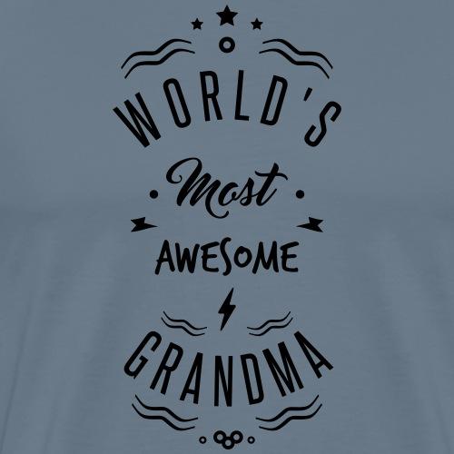 awesome grandma - T-shirt Premium Homme