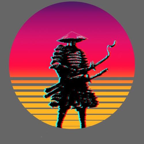 samurai outrun full - Männer Premium T-Shirt