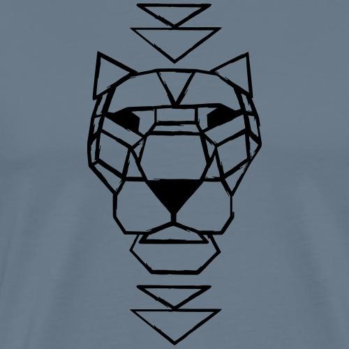 Lion destroyed - Männer Premium T-Shirt