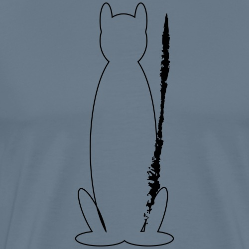 Bad_Pussy_1 - Mannen Premium T-shirt
