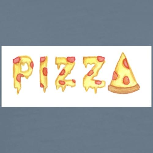 PIZZA in Pizza Design - Männer Premium T-Shirt