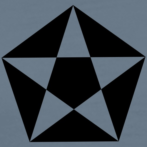 star_polygon - T-shirt Premium Homme