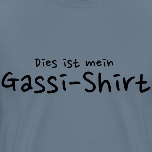 Gassi-Shirt - Hundefreunde Geschenkidee - Männer Premium T-Shirt