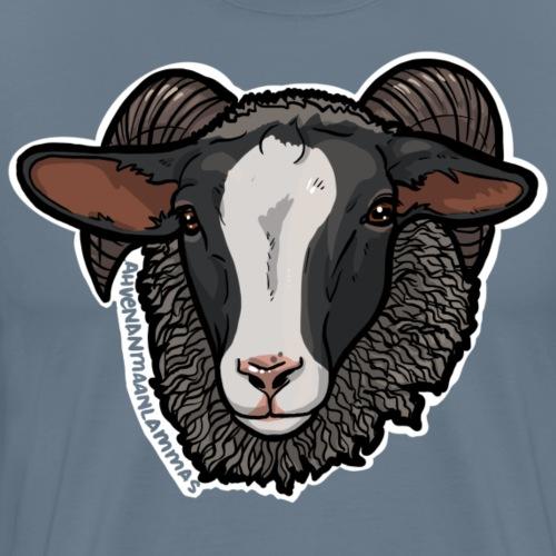 Ahvenanmaanlammas - Miesten premium t-paita