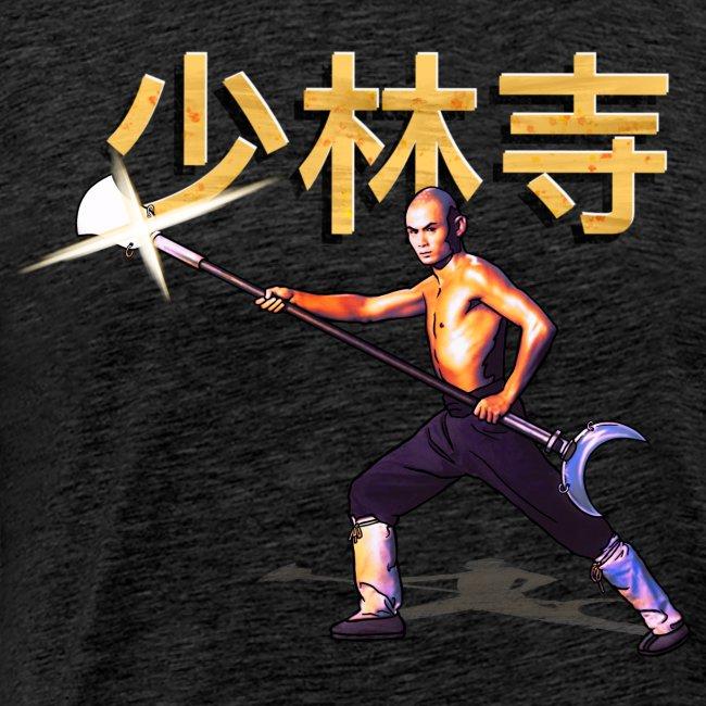 Gordon Liu as San Te - Warrior Monk