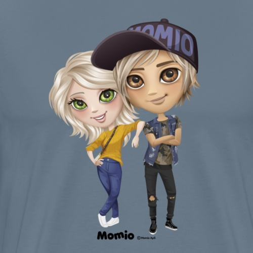 Emily i Lucas - Koszulka męska Premium