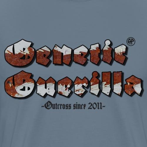Genetic Guerilla Schwarz - Männer Premium T-Shirt