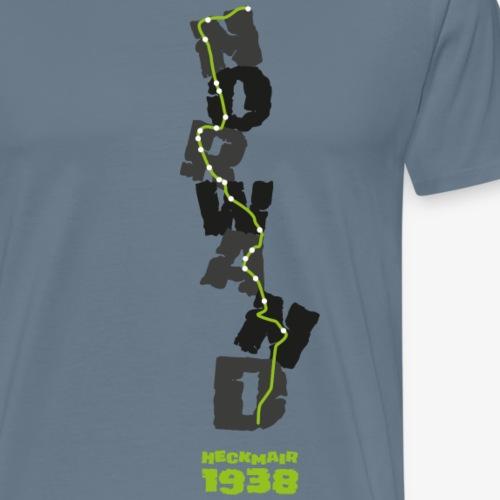 Norwand - Heckmair 1938 - Men's Premium T-Shirt