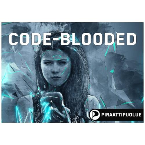 Code-blooded - Miesten premium t-paita