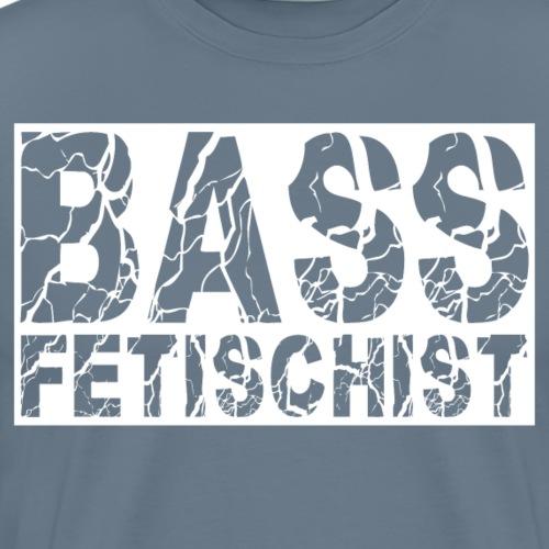 #bassfetischist - Männer Premium T-Shirt