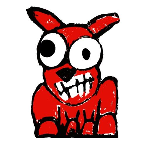 red dog 01 - Maglietta Premium da uomo