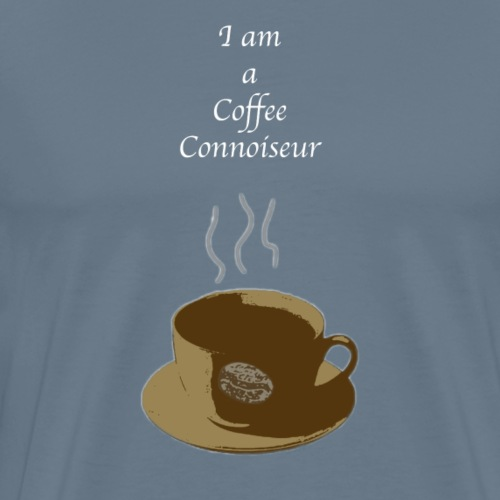 Coffee Connoiseur - Men's Premium T-Shirt