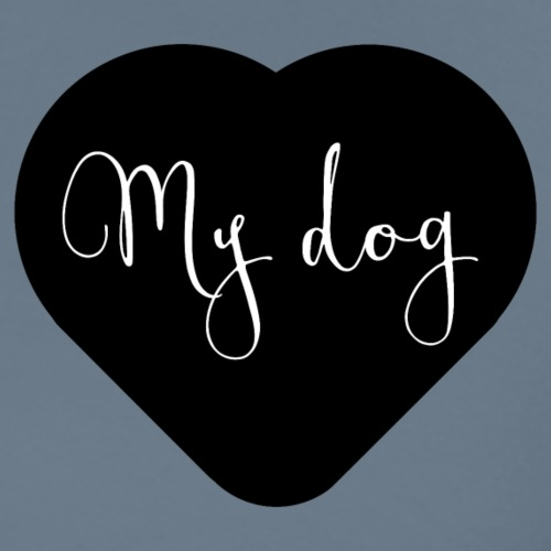 I love my dog - T-shirt Premium Homme