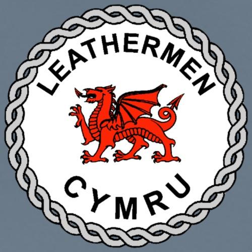 LeatherMen Cymru Logo - Men's Premium T-Shirt