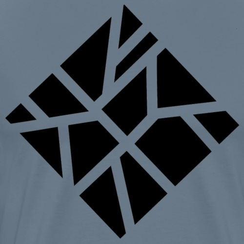 carré géométrique - T-shirt Premium Homme