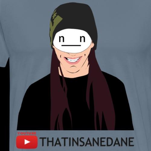 Standard Logo + Name 2 - Men's Premium T-Shirt