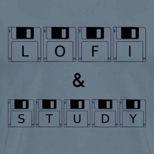 LoFi and Study - Men's Premium T-Shirt