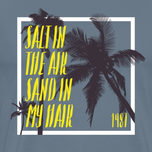 Salt In The Air 1987 - Männer Premium T-Shirt