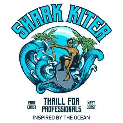 Shark Kitesurfer for professionals - Männer Premium T-Shirt