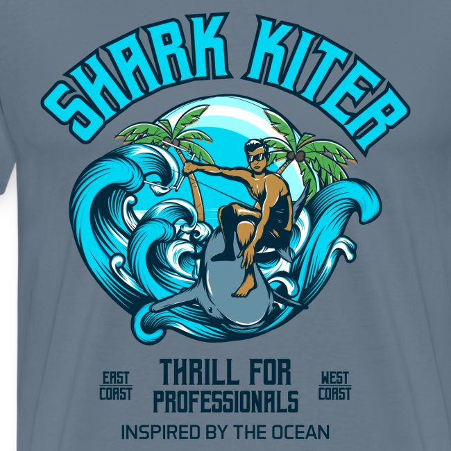 Shark Kitesurfer for professionals
