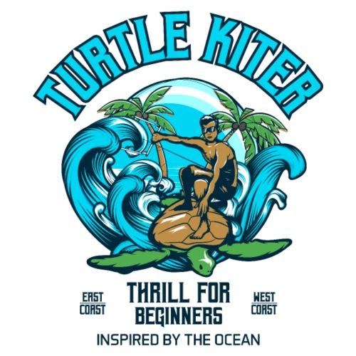 Turtle Kitesurfer for beginners