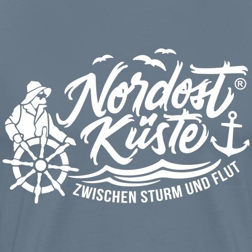 Nordost Küste Logo #5 - Männer Premium T-Shirt