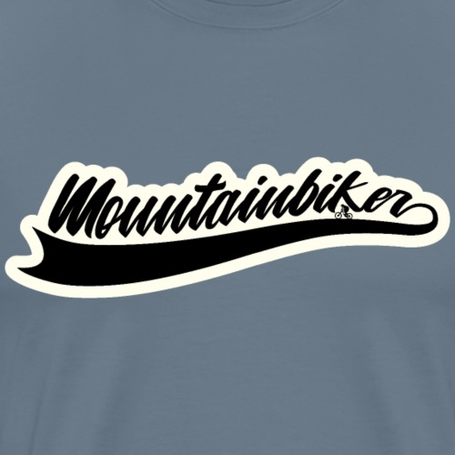 Mountainbike Mountainbiker Logo Bike - Männer Premium T-Shirt