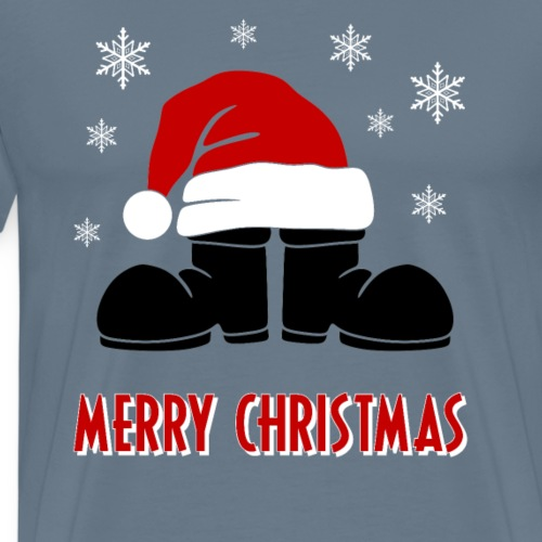 Merry Christmas Stiefel mit Mütze Weihnachten
