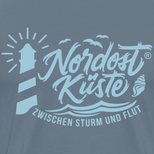 Nordost Küste Logo #7 - Männer Premium T-Shirt