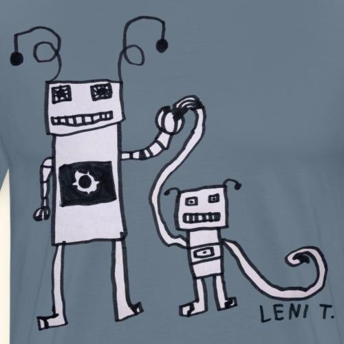 LeniT Parenthood - Miesten premium t-paita