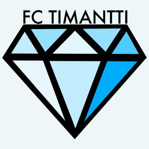 FC Timantti mustateksti - Miesten premium t-paita