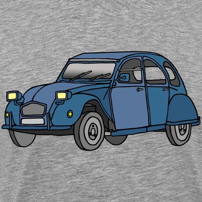 Blaue Ente 2CV