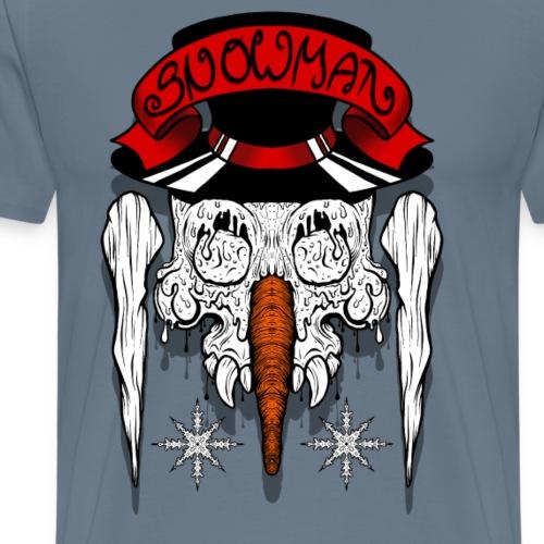 Dead Snowman - Männer Premium T-Shirt
