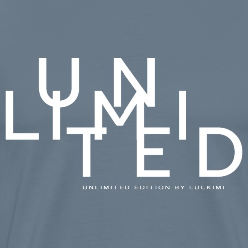 Unlimited white - Men's Premium T-Shirt