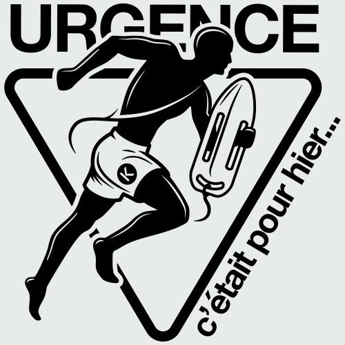 Urgence - LE KLUB - T-shirt Premium Homme