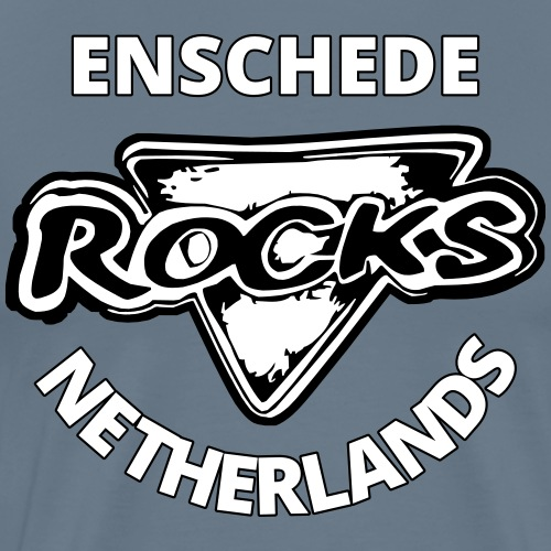 Rocks Enschede NL - BWS - Mannen Premium T-shirt