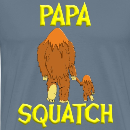 PapaSquatch1 - Men's Premium T-Shirt