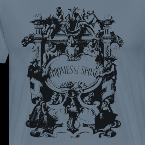 GoClassic | I Promessi Sposi - Maglietta Premium da uomo