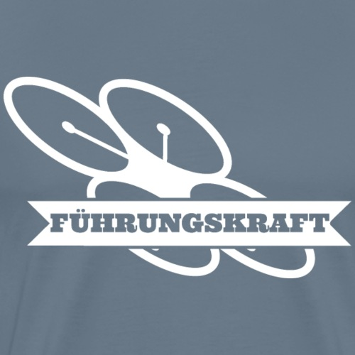fuehrungskraft_drohne_w - Männer Premium T-Shirt