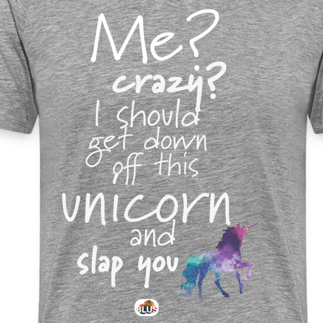 Crazy Unicorn - Light with picture