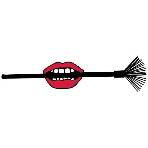 Biting Makeup Brush - Men's Premium T-Shirt
