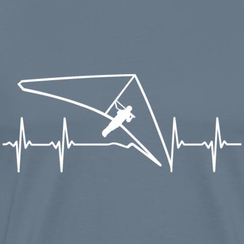 Drachenflieger-EKG - Männer Premium T-Shirt
