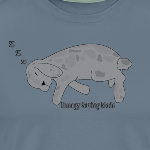 bunny energy-saving - Men's Premium T-Shirt