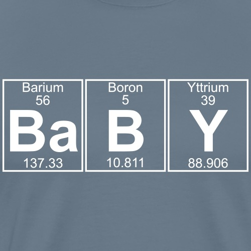 Ba-B-Y (baby) - Full - Men's Premium T-Shirt