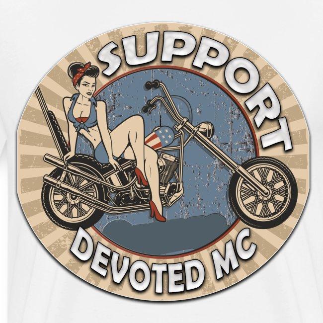 T-Shirt DEVOTEDMC PINUP CAPTAIN