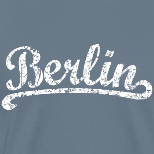 Berlin Classic (Vintage/Weiß) - Männer Premium T-Shirt